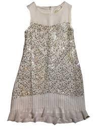 GUESS kids litritega kleit J81K13, Valge